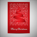 Beautiful Christmas card/poster set Royalty Free Stock Photos