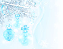 Beautiful Christmas card Stock Images