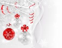 Beautiful Christmas card Stock Photos