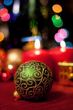Beautiful Christmas decor Royalty Free Stock Image