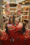Beautiful Christmas Decoration. KUALA LUMPUR, MALAYSIA - DECEMBER 10 - Decoration of Christmas for year 2011 in Pavilion Shopping Mall on DECEMBER 10, 2011 in stock images