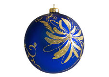 Beautiful Christmas decoration bauble Stock Images