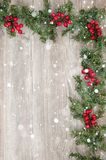 Christmas decorative wallpaper Royalty Free Stock Images