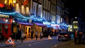 Beautiful Christmas decoration in London - LONDON, ENGLAND - DECEMBER 10, 2019