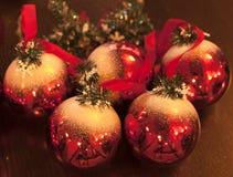 Beautiful Christmas decorations background Stock Image