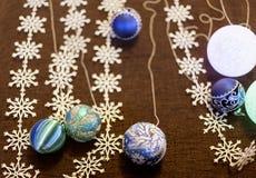 Beautiful Christmas decorations background Royalty Free Stock Image