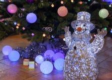 Beautiful Christmas decorations background Royalty Free Stock Photos