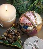Beautiful Christmas decorations Stock Photo