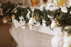 Beautiful Christmas decorations Royalty Free Stock Photo