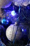 Beautiful Christmas decorations for home and Christmas trees. Beautiful Christmas decorations for the home and the Christmas tree, shiny birds, unusual balls Royalty Free Stock Images