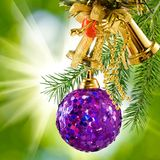 Beautiful Christmas decorations Royalty Free Stock Photos