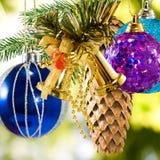 Beautiful Christmas decorations Stock Photos