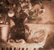 Beautiful christmas decorations Royalty Free Stock Image