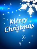Beautiful christmas design. With space for your text Stock Images