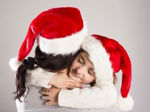 Beautiful christmas family Royalty Free Stock Photo