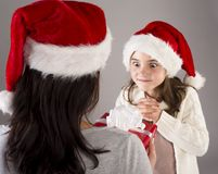 Beautiful christmas family Royalty Free Stock Photography