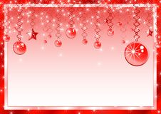 Beautiful Christmas frame Royalty Free Stock Image