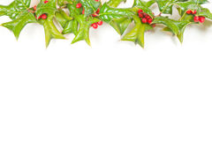 Beautiful christmas framework with studio shot Stock Photography