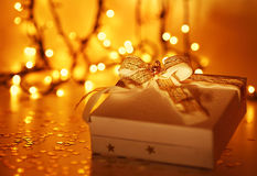 Beautiful Christmas gift Royalty Free Stock Photo