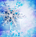 Beautiful Christmas gift Royalty Free Stock Images