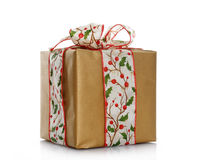 Beautiful christmas gift Royalty Free Stock Photos