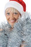 Beautiful christmas girl. Stock Photo
