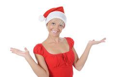 Beautiful christmas girl. Royalty Free Stock Photo