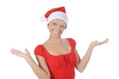 Beautiful christmas girl. Royalty Free Stock Photo