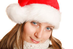 Beautiful christmas girl Royalty Free Stock Images