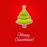 Beautiful Christmas greeting card Royalty Free Stock Image