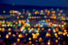 Beautiful Christmas lights abstract  bokeh background Stock Photo