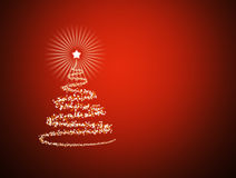 Beautiful Christmas New Year background Royalty Free Stock Photography