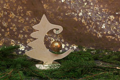 Beautiful Christmas and New Years Stock Image