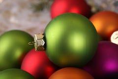 Beautiful Christmas and New Years scene Stock Photography