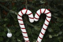 Beautiful Christmas and New Years scene. / Christmas market Stock Photo