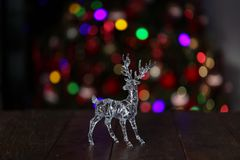 Beautiful Christmas and New Years scene. / Christmas market Stock Images