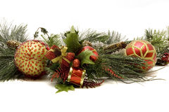 Beautiful Christmas Ornaments Stock Images