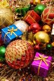 Beautiful Christmas Ornaments Stock Photo
