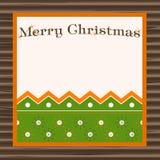 Beautiful  christmas placard Royalty Free Stock Photos