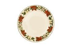 Beautiful Christmas Plate Royalty Free Stock Photography