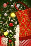 Beautiful Christmas Scenery Royalty Free Stock Photo