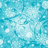 Beautiful christmas seamless background. Beautiful vector illustration, detailed drawing Stock Image