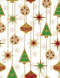 Beautiful Christmas seamless vector patter Stock Photos