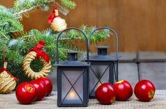 Beautiful christmas setting Royalty Free Stock Photo