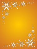 Beautiful christmas snowflake Royalty Free Stock Images