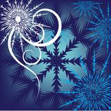 Beautiful christmas snowflake Stock Photo