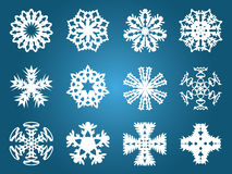 Beautiful Christmas Snowflakes Royalty Free Stock Image