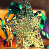 Beautiful christmas star Stock Images