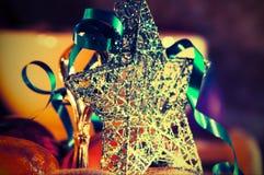 Beautiful christmas star Royalty Free Stock Photos