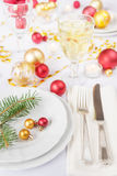 Beautiful Christmas table Royalty Free Stock Photography